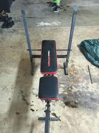 Weider Pro Bench Black And Red Weider Pro Bench Press In Charlotte Letgo