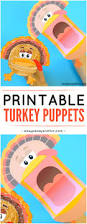 printable turkey puppets