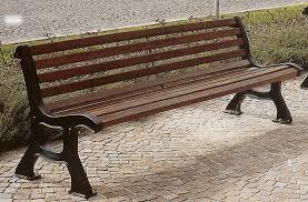 panchine da giardino in ghisa panchina roma ghisa legno esotico giardini parchi piazze 4009 x