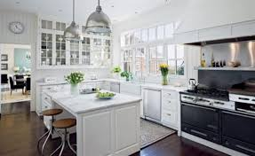 kitchen classy white wood cabinets white kitchen tiles country