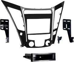 metra 99 7342 dash kit fits 2011 up hyundai sonata with manual