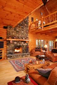 Log Home Interiors 176 Best Our Dream Log Home Images On Pinterest Architecture