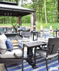 Canadian Tire Outdoor Patio Furniture Our New Backyard Patio Reveal Perfect For Entertaining