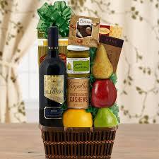 kosher gift baskets kosher goodness wine gift baskets usa sendluv