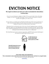 sample letter of eviction template examples
