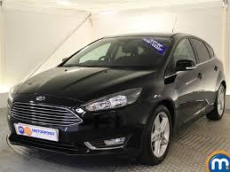used ford focus titanium black cars for sale motors co uk
