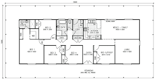 one story house floor plans five bedroom house plans one story free modular home floor plans