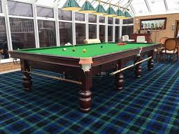 full size snooker table artisan bespoke tables riley club full size mahogany snooker table