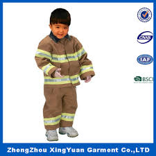 fireman costume high quality firefighter costume kids masquerade fireman costume