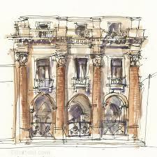 architecture sketching archives liz steel liz steel