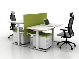 Adjustable Height Office Desks by X Ray Height Adjustable Office Desk X Ray Collection By Ergolain