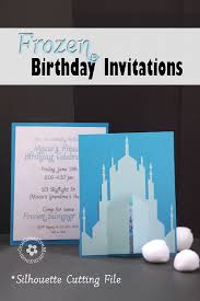 frozen birthday invitations 2 designs onecreativemommy com