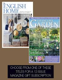 garden magazine subscription home outdoor decoration