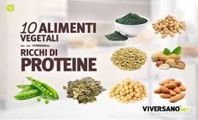 alimentazione ricca di proteine 10 alimenti vegetali ricchi di proteine