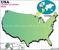 map of camden maine where is camden maine