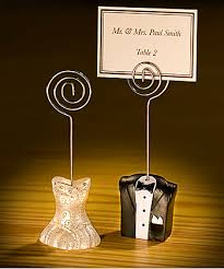 photo holder and groom place card holders place card wedding