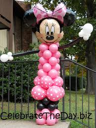 mickey mouse party supplies and minnie balloon decorations disney