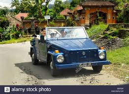 volkswagen indonesia old vw kuebelwagen near mengwi bali indonesia stock photo