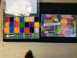 loom band mega accessory case 4200 looms included amazon co uk