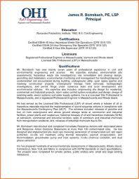 sample statement of qualification letter u2013 job resume example