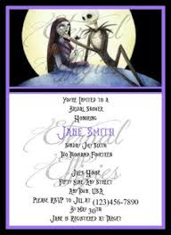 nightmare before christmas wedding invitations nightmare before christmas wedding invitation by annmariedsgns