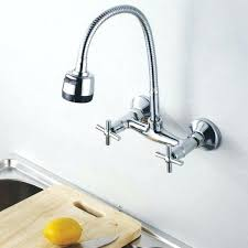wall mount kitchen faucets with sprayer breathtaking wall mount kitchen faucets kitchen inspiring fresh