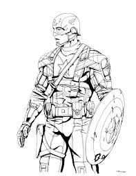 Captain America Coloring Pages To Print Mask World Of Craft Captain America Coloring Page