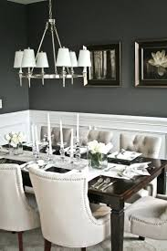 dining rooms with wainscoting dark gray dining room table wondrous the chairs the chandelier