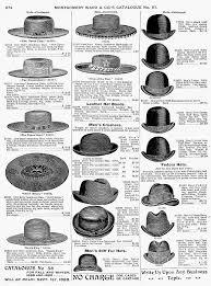 mens hats 1895 photograph by granger