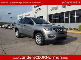 tan jeep compass new jeep vehicles for sale landers cdjr of norman