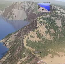 Crater Lake Oregon Map by Oregon U0027s Crater Lake Garfield Peak Sept 2016 U2013 Evans Outdoor