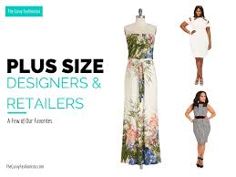 plus size designers the curvy fashionista