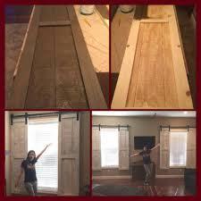 barn door window treatments u2026 pinteres u2026