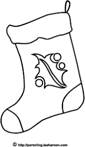 christmas stocking coloring pages christmas stocking coloring page printable image or digital stamp