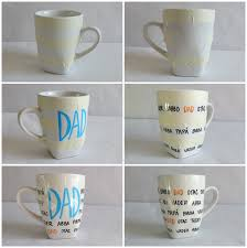 Porcelain Coffee Mugs Better Than Diy Sharpie Mugs This Tutorial Uses Permanent
