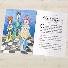 cinderella personalised story book fudge kids