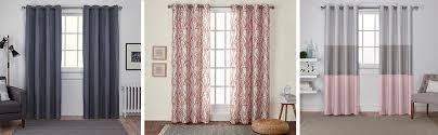Curtain Panels Amazon Com Exclusive Home Curtains Loha Linen Window Curtains