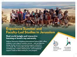 summer u0026 short term programs rothberg international