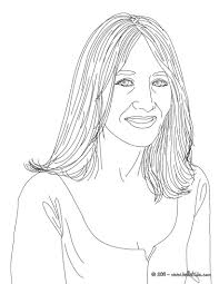 j coloring pages j k rowling coloring pages hellokids com