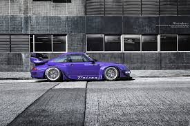 rwb porsche 2017 ultraviolet purple rwb 993 brixton forged wheels