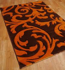 orange rug affordable eccentric area rug orangered rugs home uamp