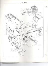 model 2150 tiller parts list