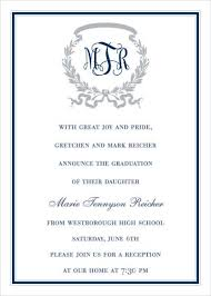 graduation announcements wording graduate invites stylish but formal graduation invitations