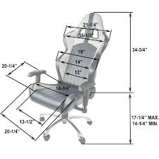 chair contemporary standard office chair seat height interesting