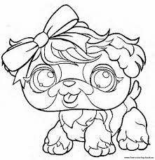 littlest pet shop coloring pages print coloring
