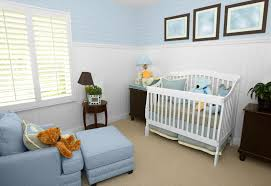 baby room ideas cute armchair on wooden floor flower baby crib