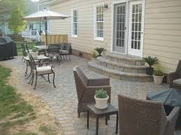 round patio stone simple outdoor steps ideas on front porch and backyard deck