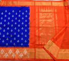 Buy Royal Blue Pure Silk Saree Sky Blue Pure Silk Saree Online Shopping India Indus