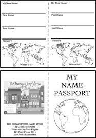 blank passport templates scouts pinterest passport