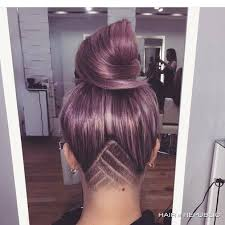 cutting hair so it curves under best 25 half shaved hair ideas on pinterest shaved side
